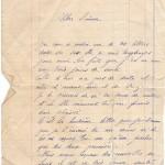 Jeanne 2 aout 14 : Le courrier met du temps à venir