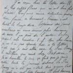 Jeanne 23 janvier 1916 : je suis allée voir le rabilleur