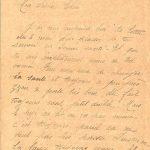 Jeanne 11 mai 1918 : Pour ça il faudrait que la guerre finisse.