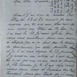 Jeanne 28 juillet 1915 : Ne te laisse pas défournir d'argent