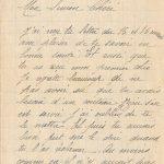 Jeanne 20 mai 1918 : Guère de pain, il est mauvais comme le diable.