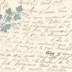 Jeanne 24 avril 1917 : j'espère que la fin sera pour cette année.