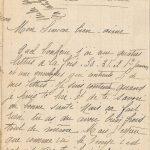 Jeanne 6 janvier 1918 : Ça coûte les enfants.