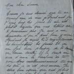 Jeanne 31 juillet 1915 : mon cousin désespère de voir finir la guerre cette année