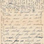 Jeanne 25 juin 1918 :  Tu devrais te dépêcher de venir.