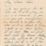 Jeanne 28 juin 1918 : les sociétés se forment pour empêcher la Spéculation.