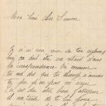 Jeanne 11 janvier 1918 : Tu dois patauger et avoir bien froid aux pieds.