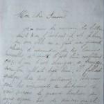 Jeanne 28 octobre 1915 : Elle ne sait pas qu'il est si loin ce papa