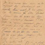 Jeanne 23 juillet 1918 : souvent elle demande si son papa ne va pas venir bientôt.