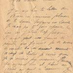 Jeanne 2 août 1918 matin : je t'écris avant de partir travailler.