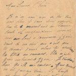 Jeanne 2 août 1918 soir : j'ai une jambe qui me fait mal mais je travaille quand même.