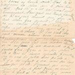 Jeanne 18 septembre 1918 : aujourd'hui nous avons eu une livre de sucre grâce à Zizou.