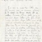 Jeanne 26 juillet 1917 :  ce n'est pas une vie de passer sa jeunesse de la sorte.