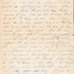 Jeanne  11 février 1915 : l'oncle demande s'il faut t'écrire tout le temps