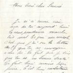 Jeanne 29 juillet 1917 :  je sais que tu es en bonne santé.