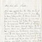 Jeanne 30 juillet 1917 : Mais toujours rien qui nous fasse prévoir une paix prochaine.