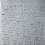 Jeanne 9 novembre 1915 : Zizou parle souvent de son Papa de la guerre.