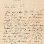 Jeanne 12 septembre 1917 : le temps, le gouvernement, tout nous mène à la misère.