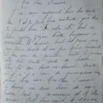 Jeanne 12 novembre 1915 : Je joins une enveloppe à ma lettre