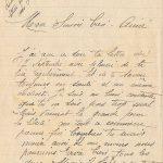 Jeanne 21 septembre 1917 : vivement la grande perm, la liberté.