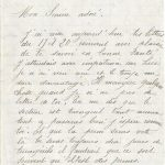 Jeanne 24 septembre 1917 : j'espère que la perm sera vite là.