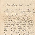 Jeanne le 25 septembre 1917 : vous n'avez pas de chance avec vos officiers.