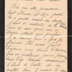 Jeanne 15 octobre 1917 : C'était si triste de se quitter hier.