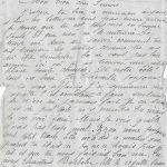 Jeanne 21 octobre 1917 : Zizou  te regrette beaucoup.