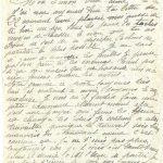 Jeanne 26 octobre 1917 : je ne puis t'écrire le soir car nous n'avons ni pétrole ni essence.