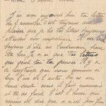 Jeanne 6 novembre 1917 :  Il y a si longtemps que nous sommes si loin l'un de l'autre.