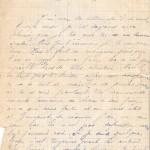 Jeanne 12 février 1915 :  Tu ne parles jamais où tu es