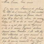 Jeanne 8 novembre 1917 : Toujours être séparés ça devient enrageant.
