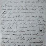 Jeanne le 28 décembre 1915 : Comme ça doit être pénible d'être dans l'humidité