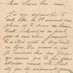 Jeanne 26 novembre 1917 : Jamais tu n'étais resté si longtemps en ligne.