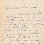Jeanne 16 janvier 1918 : Il y a une boue épouvantable ici.