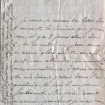 12 juillet 1915 : Jeannot a quitté l'oncle, Simon s'inquiète