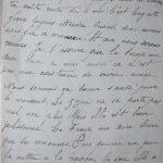 Jeanne 9 mai 1916 :  espérons que la guerre ne se prolongera pas