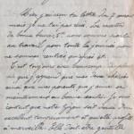 10 août 1915 : nos lettres vont passer sous beaucoup de regards indiscrets.