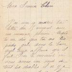Jeanne 20 janvier 1918 : Nous n'avons toujours pas touché de charbon.