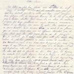 Jeanne 19 déc 14 : Tes lettres me font bien plaisir