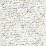 Jeanne 23 février 1918 : Tâche moyen de chasser ton cafard.