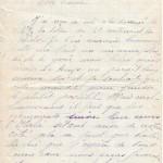 Jeanne 3 juin 1915 : un immense plaisir de te revoir mais hélas  qu'en image