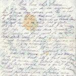 Jeanne 24 février 1918 : Elle a fait une bonne partie de cerceau.