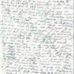 Jeanne 28 février 1918 :  Zizou attend toujours la semaine prochaine pour te revoir.