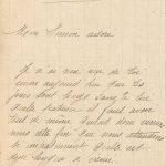 Jeanne 5 janvier 1918 : Je t'assure que le moral est bas ici.