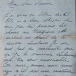 Jeanne 26 juillet 1915 :  n'écoute plus les mensonges que l'on pourrait bien te dire