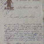 21 novembre 1917 : toute la nuit ils ont bombardé tout autour de chez nous.
