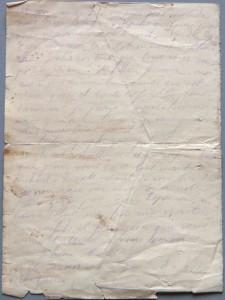 Lettre Verso