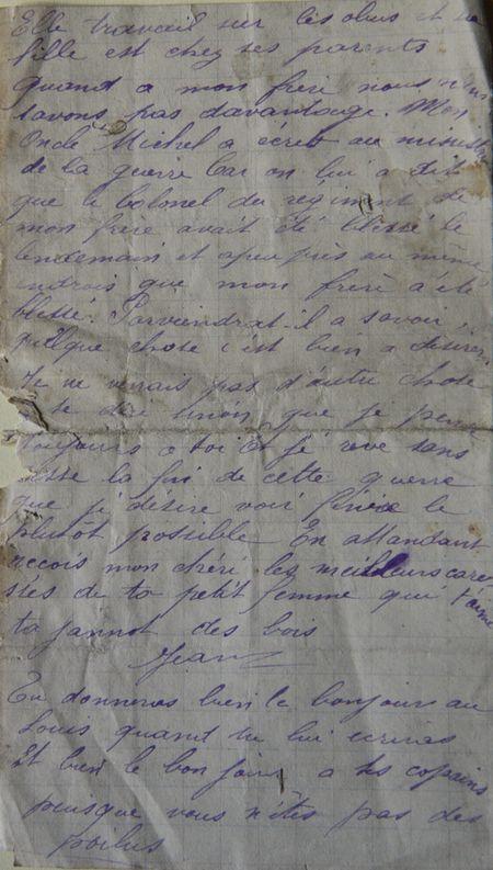 Mon Oncle Michel a écrit au ministre de la guerre