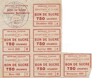 Dans la Loire, le sucre était rationné